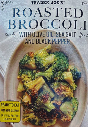 Trader Joe's Roasted Broccoli