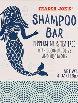 Trader Joe's Peppermint & Tea Tree Shampoo Bar