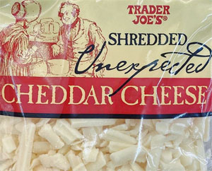 Trader Joe's Shredded Unexpected Cheddar Cheese