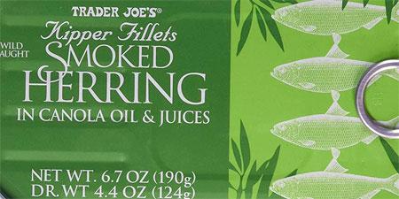 Trader Joe's Smoked Herring