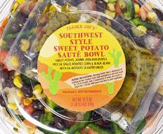 Trader Joe's Southwest Style Sweet Potato Saute Bowl