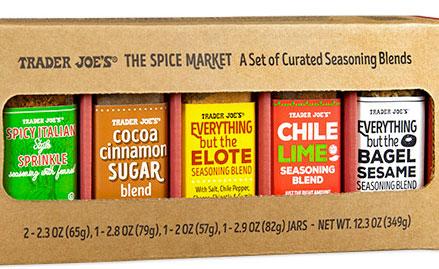 Trader Joe's Spice Market Gift Set