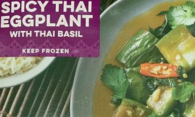 Trader Joe's Spicy Thai Eggplant