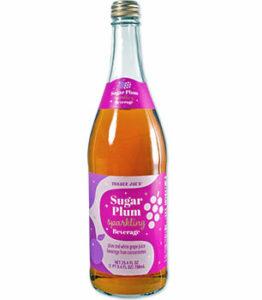 Trader Joe's Sugar Plum Sparkling Beverage