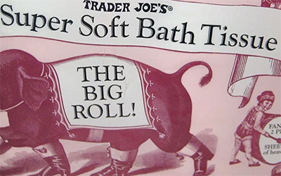 Trader Joe's Super Soft Bath Tissue