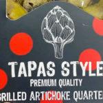 Ibericos Tapas Style Grilled Artichoke Quarters