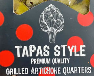 Ibericos Tapas Style Grilled Artichoke Quarters Reviews