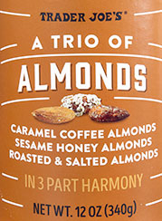 Trader Joe's A Trio Of Almonds