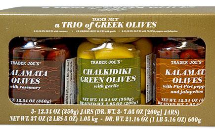 Trader Joe's Trio of Greek Olives