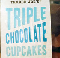 Trader Joe's Triple Chocolate Cupcakes