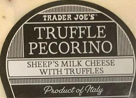 Trader Joe's Truffle Pecorino