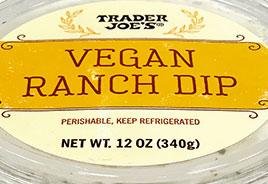 Trader Joe's Vegan Ranch Dip