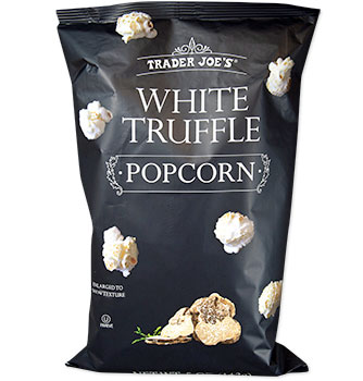 Trader Joe's White Truffle Popcorn