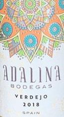 Bodegas Adalina Verdejo Wine