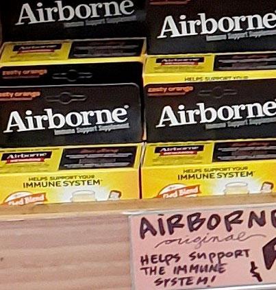 Airborne Original Zesty Orange Immune System Support