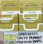 Barebells Salty Peanut Protein Bars Reviews