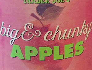 Trader Joe's Big & Chunky Apples