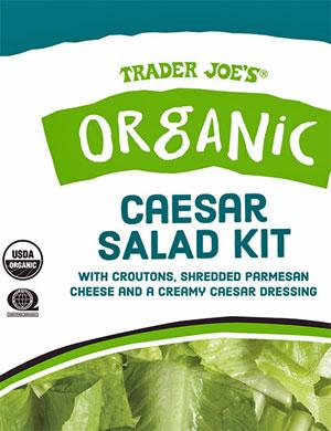 Trader Joe's Organic Caesar Salad Kit