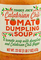 Trader Joe's Calabrian Chili Tomato Dumpling Soup