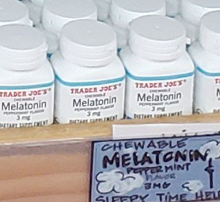 Trader Joe's Chewable Peppermint Melatonin (3mg)