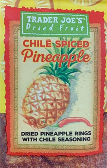 Trader Joe's Chile Spiced Pineapple