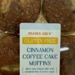 Trader Joe's Gluten-Free Cinnamon Coffee Cake Muffins
