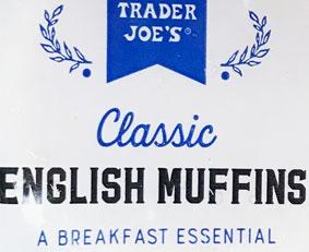 Trader Joe's Classic English Muffins
