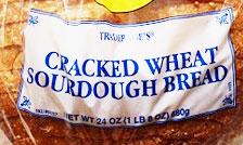 Trader Joe's Cracked Wheat Sourdough Bread