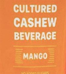 Trader Joe's Mango Cultured Cashew Beverage