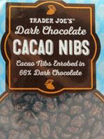 Trader Joe's Dark Chocolate Cacao Nibs