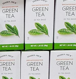 Trader Joe's Decaffeinated Green Tea