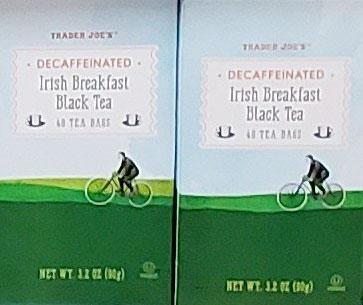 Trader Joe's Decaffeinated Irish Breakfast Black Tea
