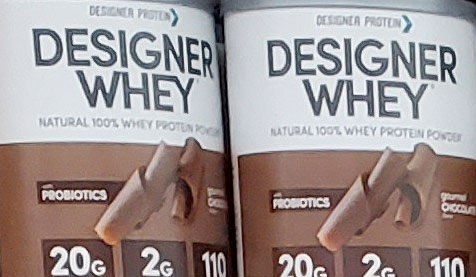 Designer Whey Chocolate Protein Powder