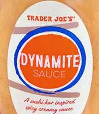 Trader Joe's Dynamite Sauce