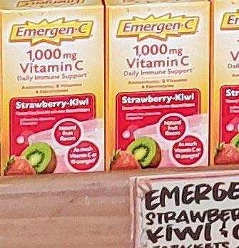 Emergen-C Strawberry Kiwi Daily Immune Support