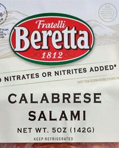 Fratelli Beretta Calabrese Salami