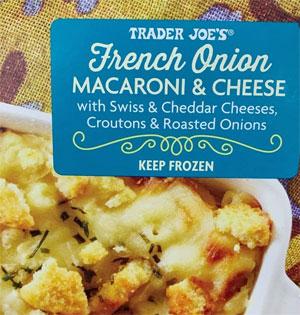 Trader Joe's French Onion Macaroni & Cheese