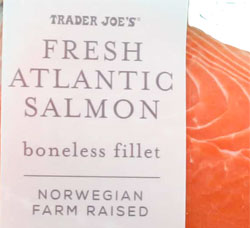 Trader Joe's Fresh Atlantic Salmon Boneless Fillet
