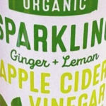 Trader Joe's Organic Ginger & Lemon Sparkling Apple Cider Vinegar Beverage