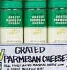 Trader Joe's Grated Parmesan Cheese