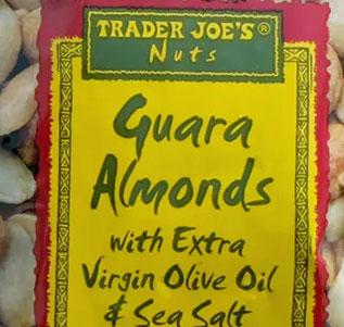 Trader Joe's Guara Almonds