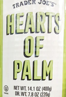 Trader Joe's Canned Hearts of Palm