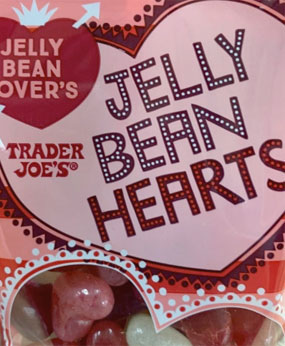 Trader Joe's Jelly Bean Hearts