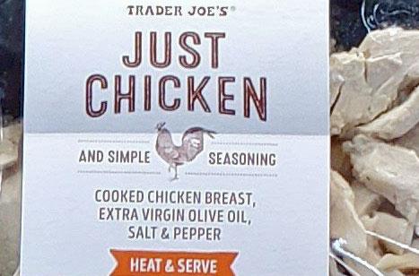 Trader Joe's Just Chicken and Simple Seasoning Reviews