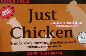 Trader Joe's Just Chicken Breast with Rib Meat
