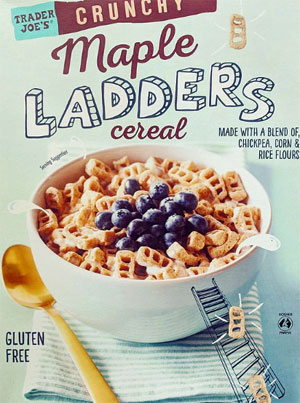 Trader Joe's Crunchy Maple Ladders Cereal