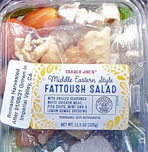 Trader Joe's Middle Eastern Style Fattoush Salad