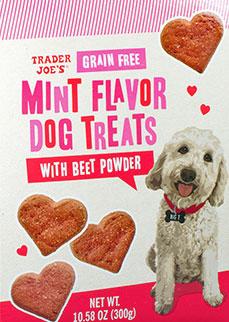 Trader Joe's Grain-Free Mint Flavored Dog Treats