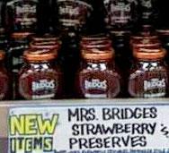 Mrs. Bridges Strawberry Preserves