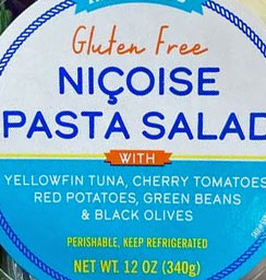 Trader Joe's Gluten-Free Niçoise Pasta Salad